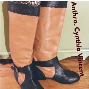 Anthropologie Cynthia Vincent Boots Size 7- GUC